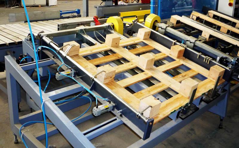 Mesa para fabricar palets